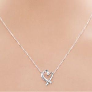 Tiffany Loving Heart Pendant with Diamond